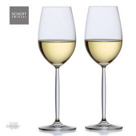 2 witte wijn glazen Diva