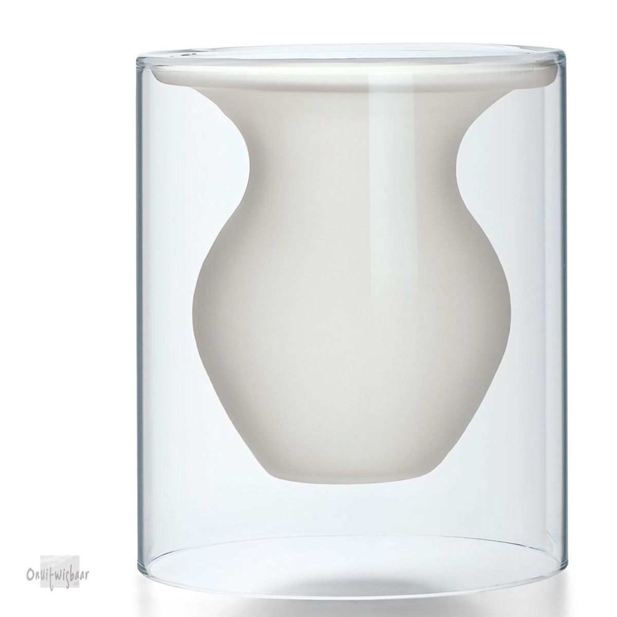 vaas mat transparant glas