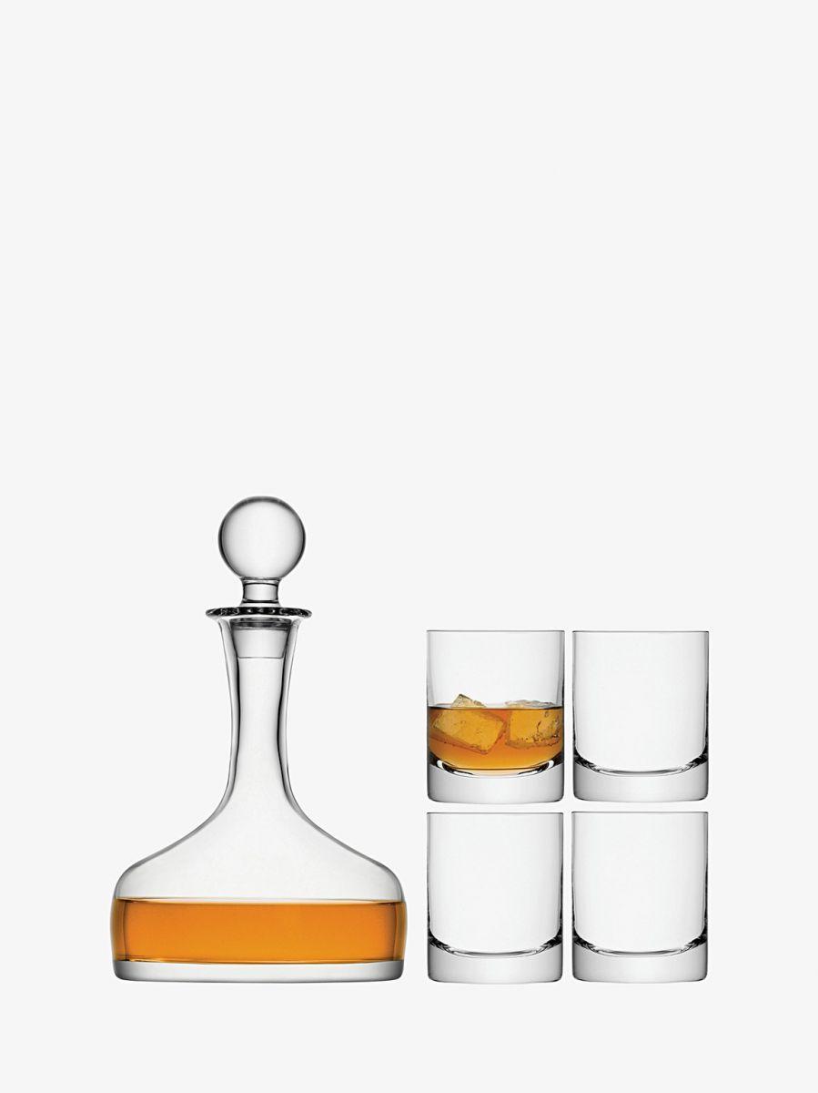whiskey karaf met 4 glazen