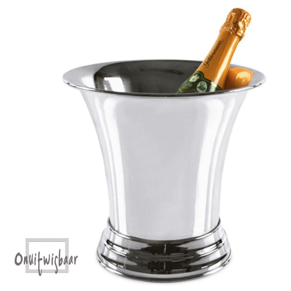 zwaar verzilverde champagnekoeler